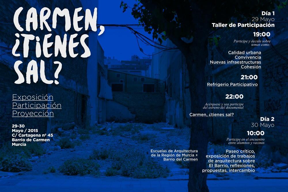 Carmen, ¿tienes sal? - Fab Lab Alicante