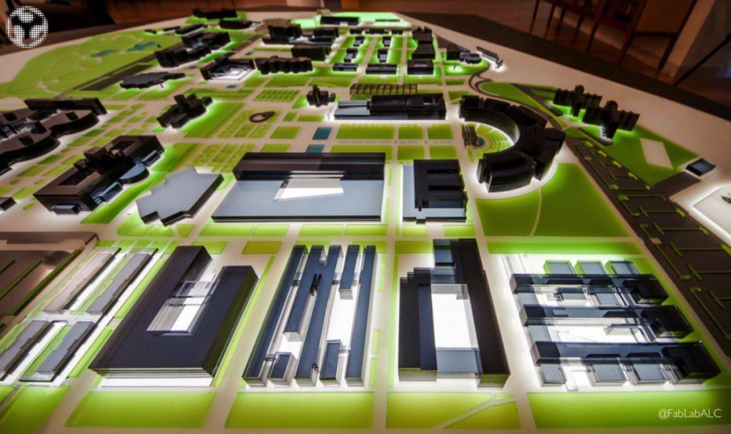 Universidad de Alicante: maqueta - Fab Lab Alicante