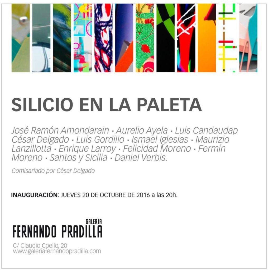 Invitación Silicio en la paleta