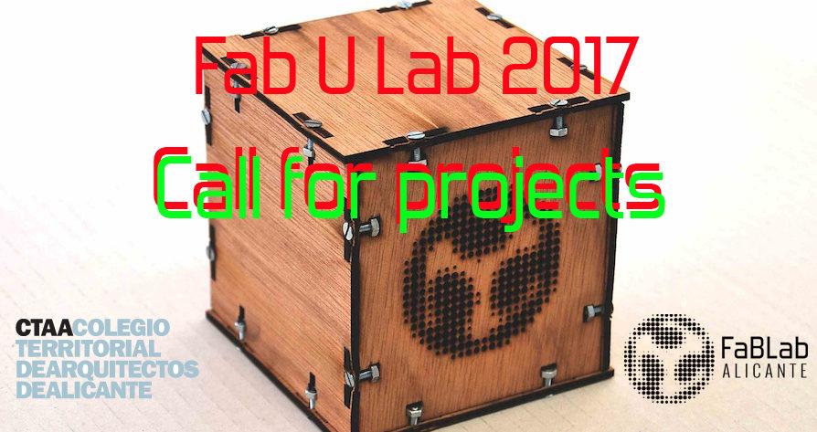 CFP FabULab2017