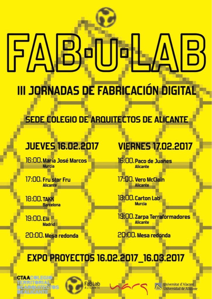 Cartel FabULab 2017
