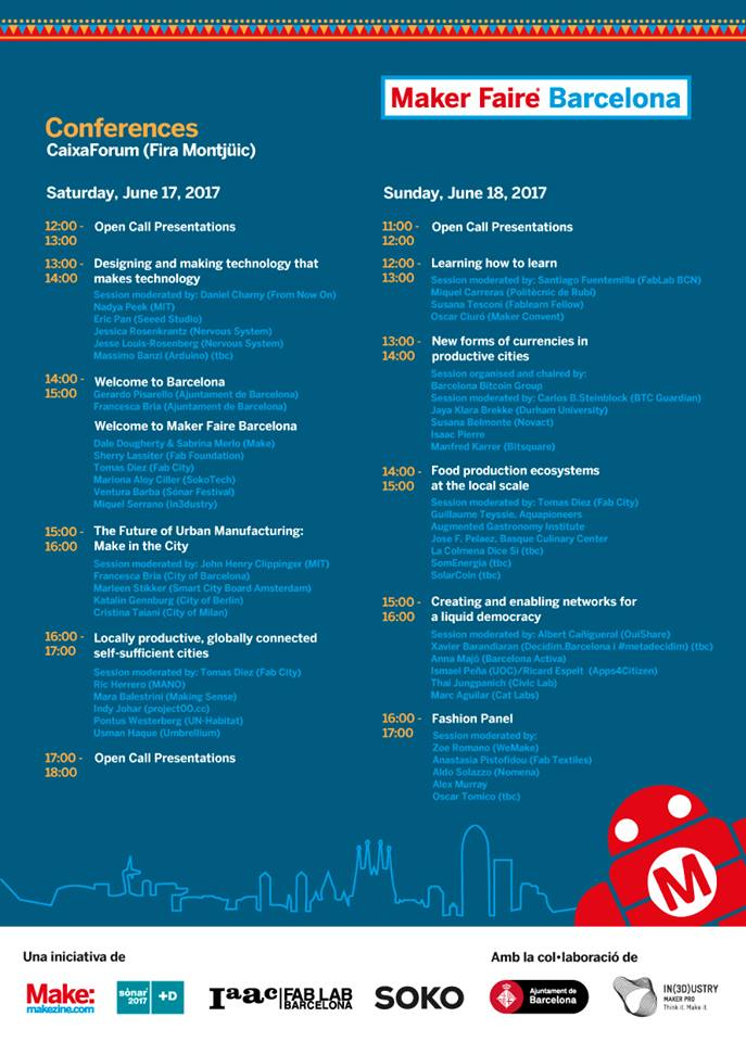 programa maker faire bcn
