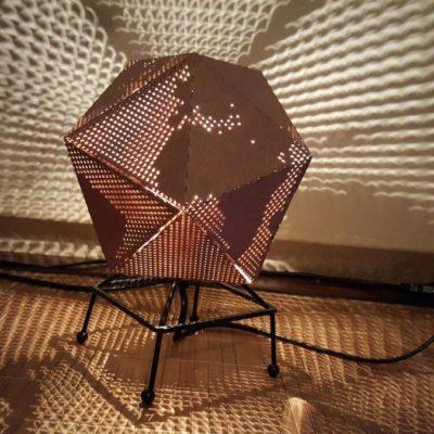Dymaxion Fab Lamp